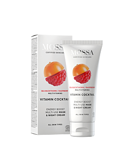 Vitamin Cocktail Energy boost multi-use mask & night cream