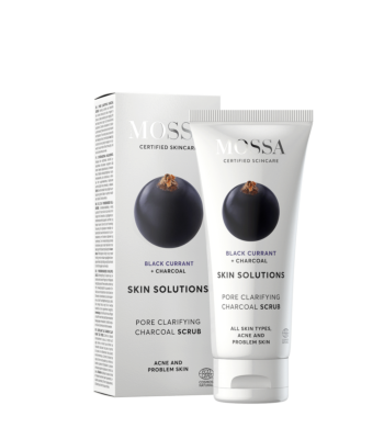 Skin Solutions Pore clarifying charcoal scrub